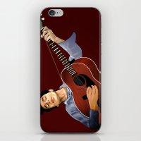 bob dylan iPhone & iPod Skins featuring Bob Dylan by Derek Donovan