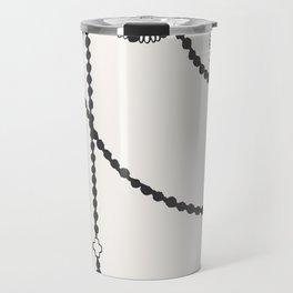 Beaded Garland With Tassels Travel Mug