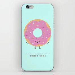 Donut Care iPhone Skin