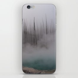 Steamy Hot Spring in Yellowstone iPhone Skin