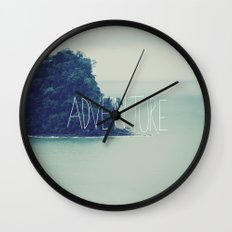Adventure Island Wall Clock