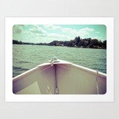 Sometime This Life, I'm Going to Sail Away Art Print