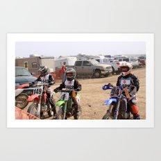 Race Ready Art Print