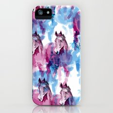 Two horses iPhone (5, 5s) Slim Case
