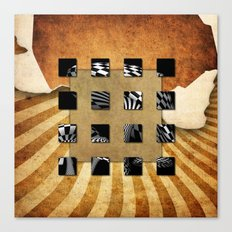 SQUARE AMBIENCE Canvas Print