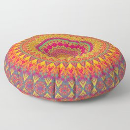 Mandala 507 Floor Pillow