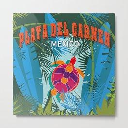 Playa Del Carmen Metal Print