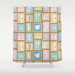 Flying Machines Shower Curtain