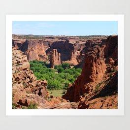 Canyon de Chelly View Art Print