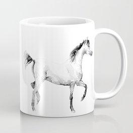 The slender horse Coffee Mug