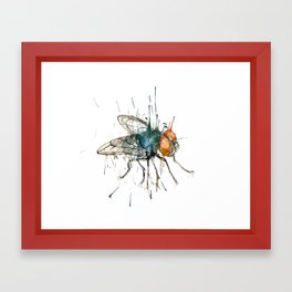 I said the fly Framed Art Print