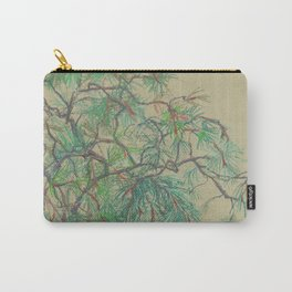 Pine-tree branch Carry-All Pouch