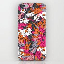 Bright Floral Fun iPhone Skin