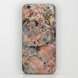 Iceland Rocks: Red Rhyolite Edition iPhone Skin