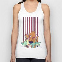 50s Tank Tops featuring Barbecue by Ale Giorgini
