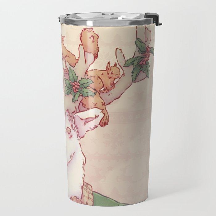 Dasher le Renne Travel Mug