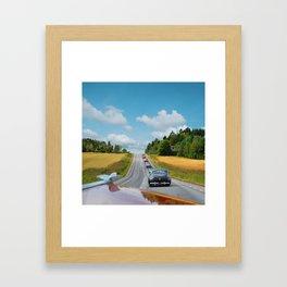 The Ultimate Custom Cars Roadtrip Framed Art Print