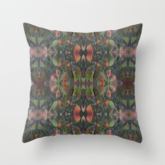 Fall Collage Throw Pillow