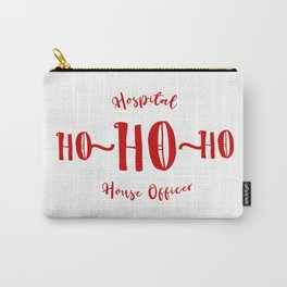 Hospital House Officer Medical Christmas Carry-All Pouch