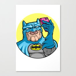 #Batface Canvas Print