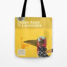 Cinema, Radio, TV and Magazines Tote Bag