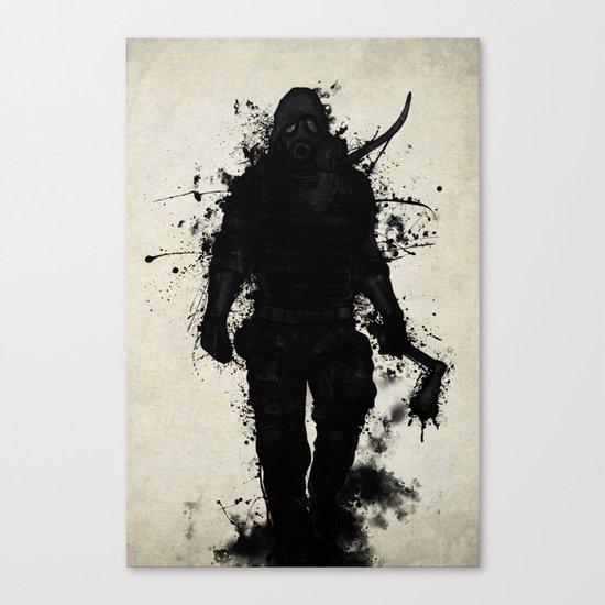 Apocalypse Hunter Canvas Print