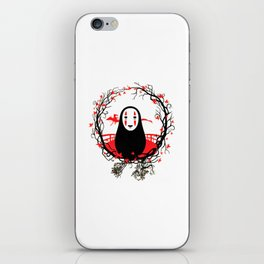 Evil Without Face iPhone Skin