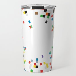Rainbow Data Travel Mug