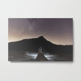 Star Mountain Metal Print