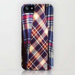 Madras Style iPhone Case