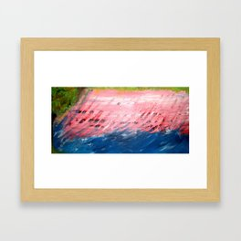 Washed Away, scene 1 Framed Art Print