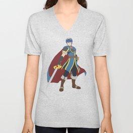 Emblem Prince Unisex V-Neck