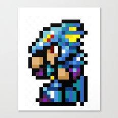 Final Fantasy II - Kain Canvas Print