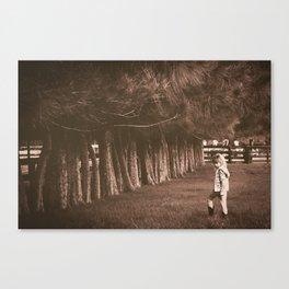 The Princess of Tio Farm Canvas Print