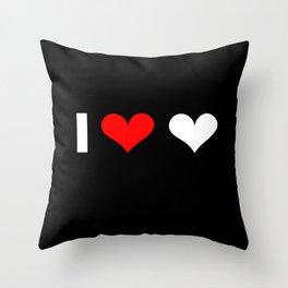 I love love Throw Pillow