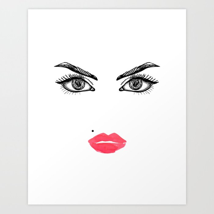 photo regarding Lip Printable known as Printable Artwork,Make-up Experience,Make-up Instance,Lips Print,Eyelashes Print,Rest room Decor,For Her Artwork Print by way of alextypography