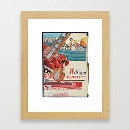 Will you Framed Art Print