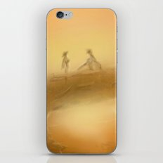 duel at dusk iPhone & iPod Skin