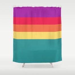 Mardi Gras 1985 Shower Curtain