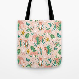 Endangered Wilderness - Blush Pink Tote Bag