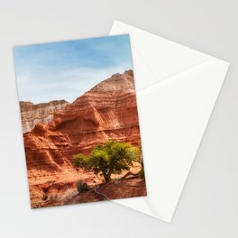 Kodachrome Park colorful desert beauty in spring. Stationery Cards