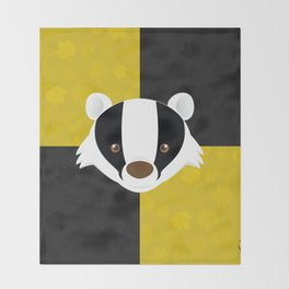 The Badger of Loyalty (Limited 2018) Throw Blanket