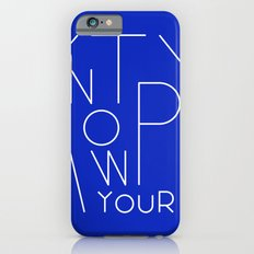Know your type Slim Case iPhone 6s