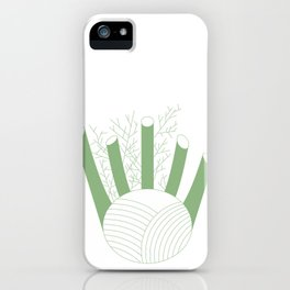 Green Fennel iPhone Case