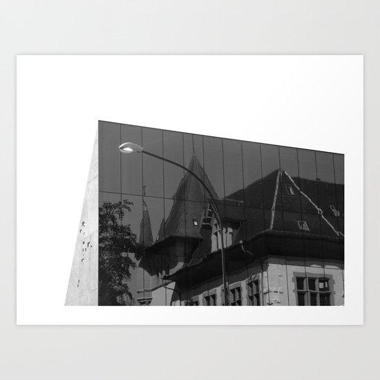 REFLECTING BERN Art Print