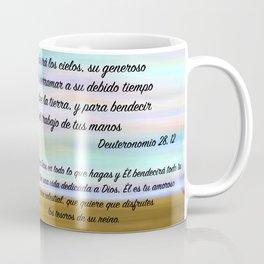 Niña flor del cielo - Deuteronomio 28, 12 Coffee Mug