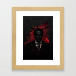 Hannibal Wendigo Framed Art Print