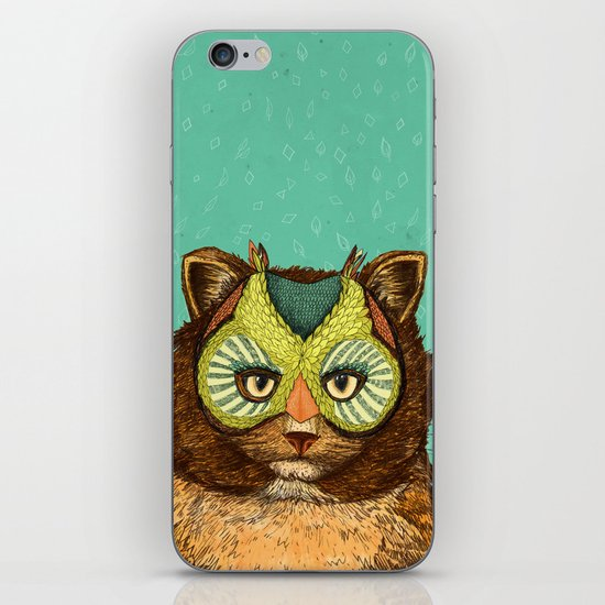 OwlCat iPhone & iPod Skin