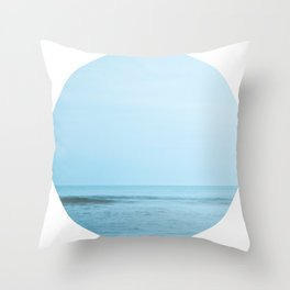 Nautical Porthole Study No.2 Throw Pillow