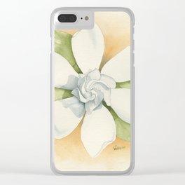 Graceful Symmetry–Watercolor Clear iPhone Case